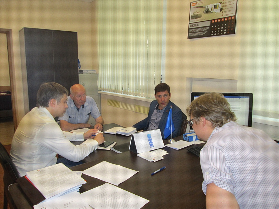 Встреча представителей Свердловского отделения СоюзМаш России и регионального отделения «Юнармия»