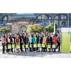 Победители Green Talents 2018 прибыли на Science Forum