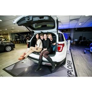 Remar Group организовала шоу теней на презентации нового Ford Explorer