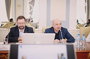 Ректор КФУ встретился с представителями компании Trimble