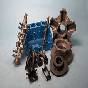 Чугунное литье, отливка изделий из металла