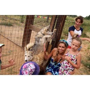 Ребята из приютов Калужской области стали гостями праздника в Хаски Парке.