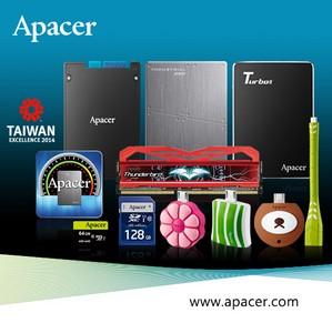 Инновационные решения Apacer на Computex Taipei 2014