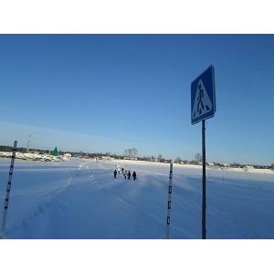 ОНФ в Югре провел мониторинг ледовых переправ в Кондинском районе