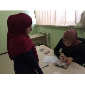 Активисты ОНФ в Чечне принимают участие в сборе подписей в поддержку выдвижения Путина