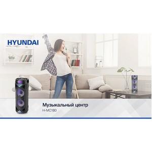 Слушать или петь? С новым музыкальным центром Hyundai H-MC180 можно все!