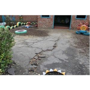 После вмешательства ОНФ запланирован ремонт игровых площадок детского сада в Острогожске