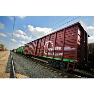 ПГК увеличила объем перевозок в крытом подвижном составе на Красноярской магистрали