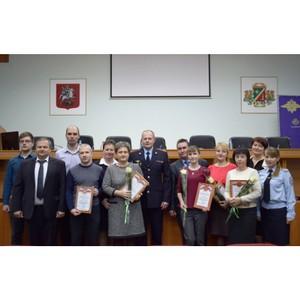 В УВД поздравили сотрудников подразделения связи с 68-й годовщиной службы
