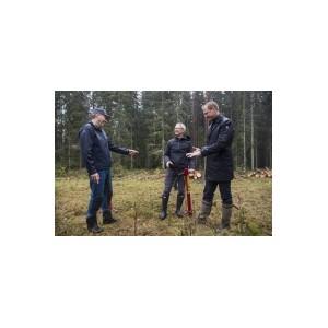 """ƒиректор Apple """"им ук посадил дерево в Iggesund, признава¤ вклад Holmen в защиту окружающей среды"""