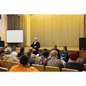 Активисты ОНФ разъясняют амурчанам порядок участия в проекте по благоустройству городской среды»