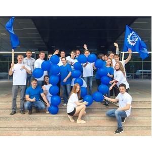 Молодежь Башкортостана посвятила флешмоб юбилею СоюзМаш России