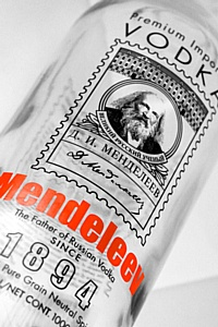 """ДанКо Декор"", Сергей Данилов: декорирование бутылки водки Mendeleev"