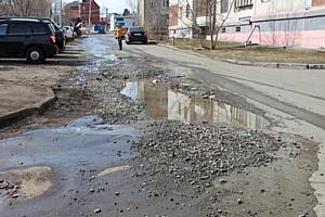 Активисты Народного фронта провели рейд по «убитым» дорогам Челябинска