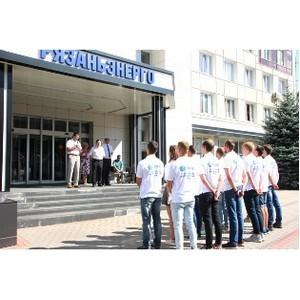 Cтуденческие отряды завершили трудовой семестр на объектах Рязаньэнерго