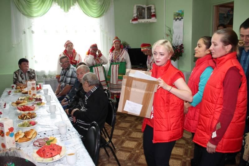 «Молодежка ОНФ» в Мордовии провела мероприятие для пожилых людей