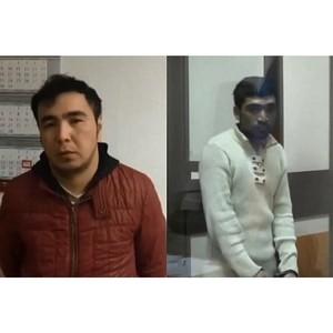 Оперативники уголовного розыска задержали двоих подозреваемых в совершении разбойного нападения