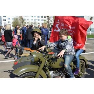 Работники Костромаэнерго приняли участие в праздновании Дня Победы