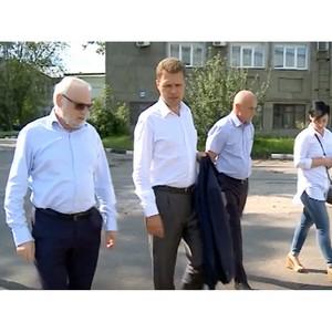 Спикер Мособлдумы Никита Чаплин посетил Мытищинский Приборостроительный Завод