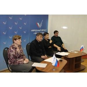 Активисты ОНФ в Туве обсудили реализацию новых проектов Народного фронта
