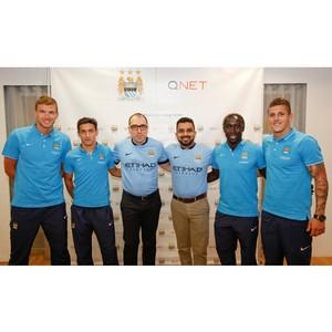 Qnet спонсор футбольного клуба Манчестер Сити