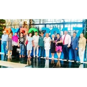 30 июня 2017 г. состоялось торжественное вручение наград членам партии «Нұр Отан»