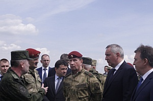 Дмитрий Рогозин оценил технические средства охраны Росатома