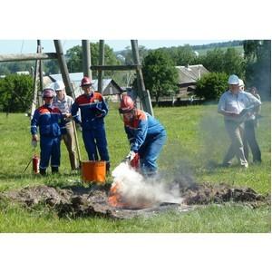 Глазовские электрические сети признаны отделением образцового противопожарного состояния