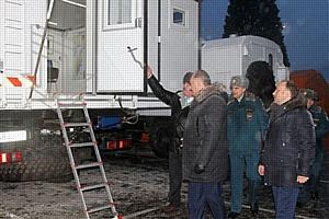 Подвижный пункт оперативного штаба поступил на службу ЦОД Камчатского края