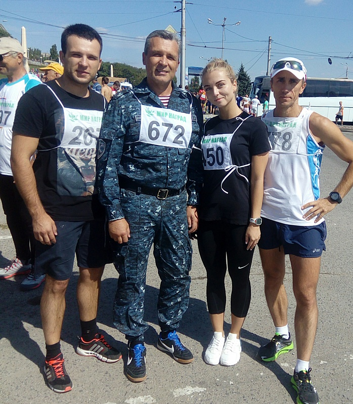 Сотрудники транспортной полиции приняли участие в забеге «Волгоградская миля»
