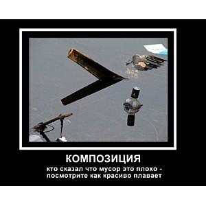 В Украине стартовал конкурс экологического демотиватора
