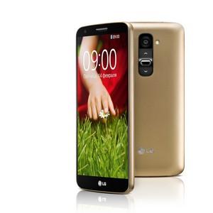 В преддверии весны компания LG выпустила смартфон LG G2 золотого цвета