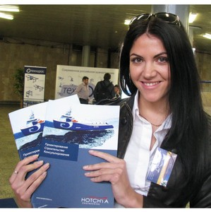 «Хотча Морское Проектирование» приняла  участие в «ТРАНСТЕК-2012»