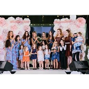 Москва рукоплескала звездам на подиуме с детьми