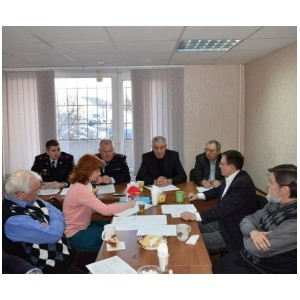 Общественный совет при УВД провел заседание