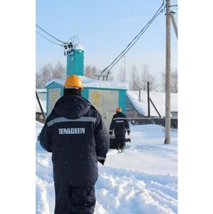 Специалисты ООО «Тверьоблэлектро» оперативно устранили сбои в электроснабжении