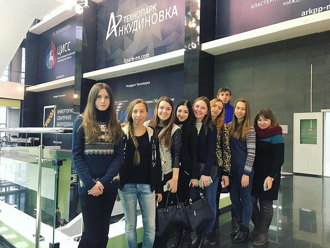 Студенты Дзержинского филиала РАНХиГС посетили технопарк «Анкудиновка»