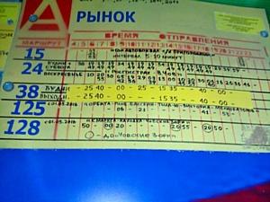 ОНФ призвали власти Сыктывкара ускорить согласование нового расписания автобуса до Дырносских дач