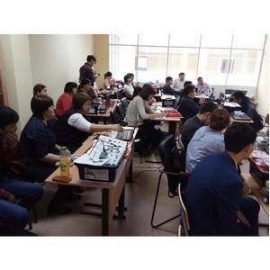 Учителя Западно-Казахстанской области получили международные сертификаты Lego Education