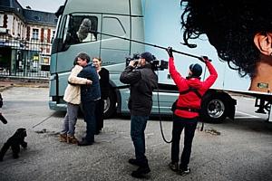 Volvo Trucks снимает реалити-шоу о большом автомобильном путешествии певицы Mapei