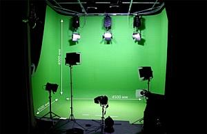 Как оборудовать хромакей зону в студии