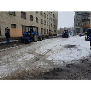 Активисты ОНФ в Коми проконтролируют вопрос ремонта дорог в снегопад в Воркуте