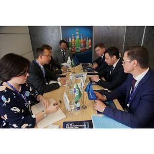 На ПМЭФ главы Ярославской области и компании «Балтика» обсудили развитие пивоваренной отрасли