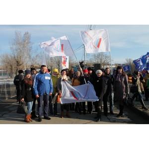Активисты ОНФ на Алтае приняли участие в праздновании второй годовщины воссоединения с Крымом