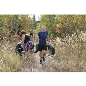Воронежские активисты ОНФ приняли участие в акции «Генеральная уборка страны»