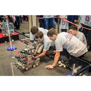 ¬сероссийские соревновани¤ по проектированию и прототипированию робототехники в ≈катеринбурге