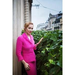 Ольга Аристова посетила неделю моды в Милане