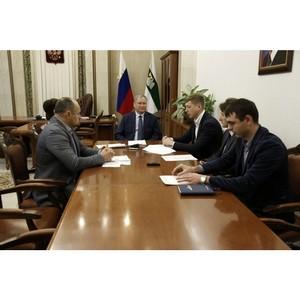 Активисты Народного фронта передали губернатору Курганской области общественные предложения