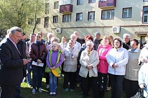 Народный фронт взял на контроль благоустройство дворов в Рузаевке