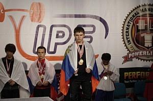Бронзовым призером Чемпионата Европы по классическому пауэрлифтингу стал студент КФУ